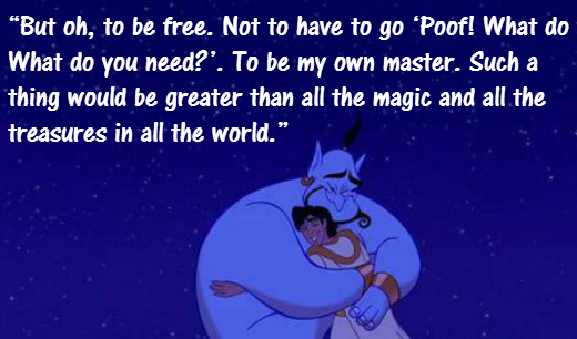 quotes from aladdin genie images